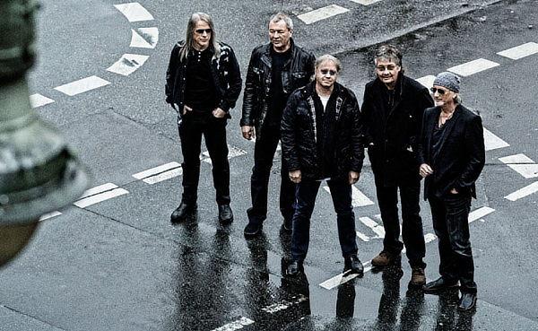 Deep Purple: 4 concerti in Italia a novembre – biglietti