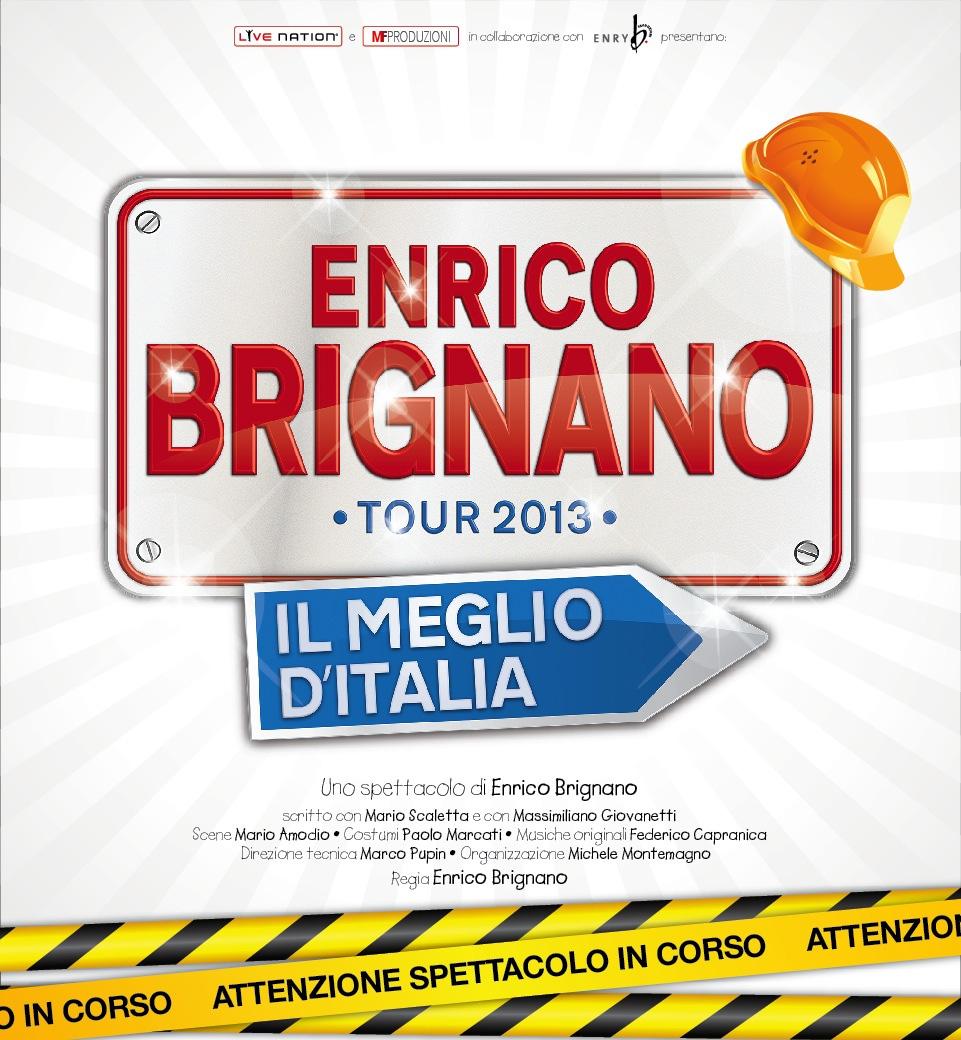 Enrico Brignano 'Il Meglio dell'Italia (2014) 14 Marzo WebRip Mp3 ITA