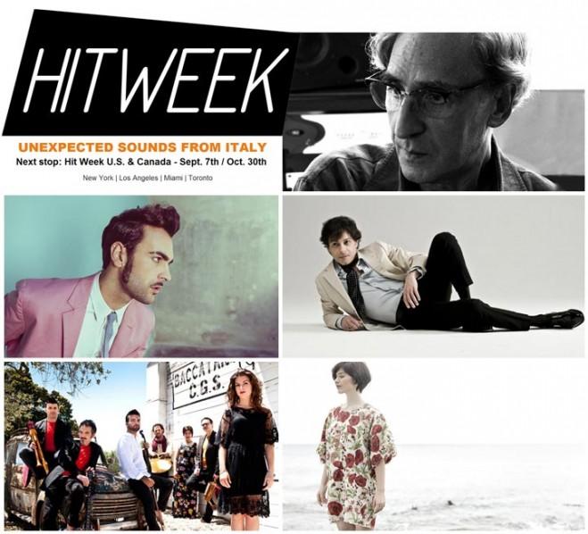 Inizia oggi a Los Angeles 'Hit Week', festival della musica italiana nel mondo