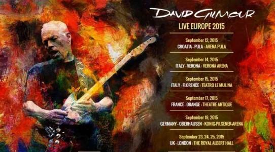 David Gilmour: il concerto di Firenze spostato all'Ippodromo del Visarno
