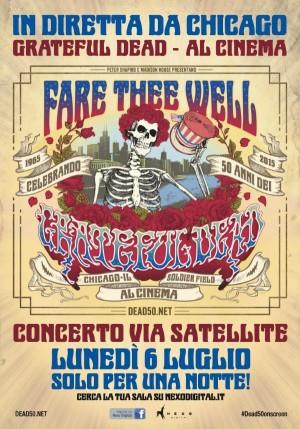 I Grateful Dead approdano al cinema con Fare Thee Well