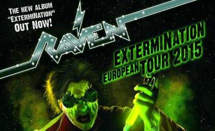 Raven: grande ritorno in Italia per la band inglese
