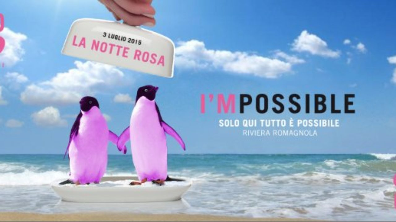 Cartina Riviera Romagnola.Eventi Romagna La Notte Rosa 2015 Inizia Venerdi 3 Luglio