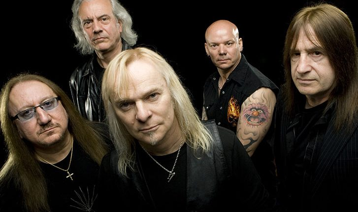 Uriah Heep in concerto a Boretto (RE) il 1 agosto 2015