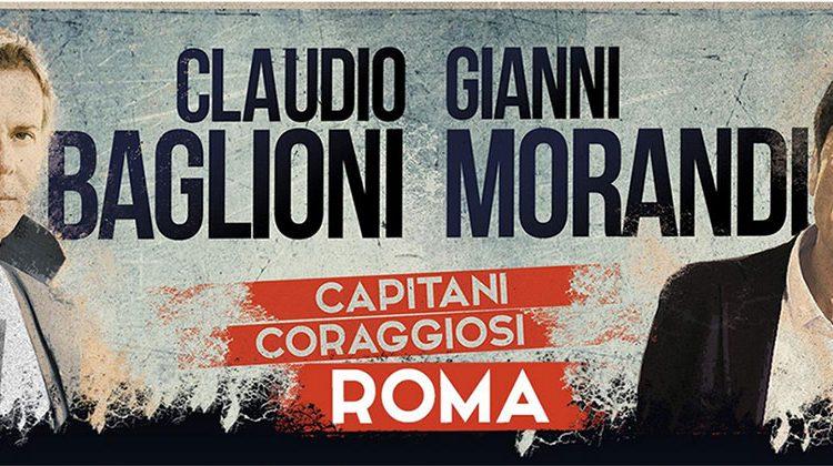 Claudio Baglioni e Gianni Morandi: arrivano i Capitani Coraggiosi