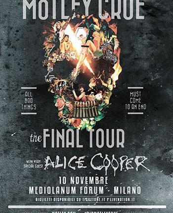 Mötley Crüe: a Milano l'unica data italiana del Final Tour il 10 novembre 2015