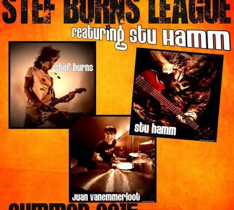 Stef Burns presenta in concerto Roots and Wings