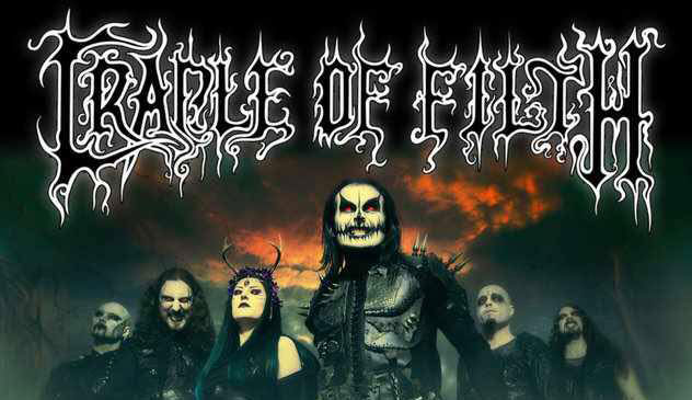 Cradle Of Filth: 3 concerti a novembre 2015 – biglietti
