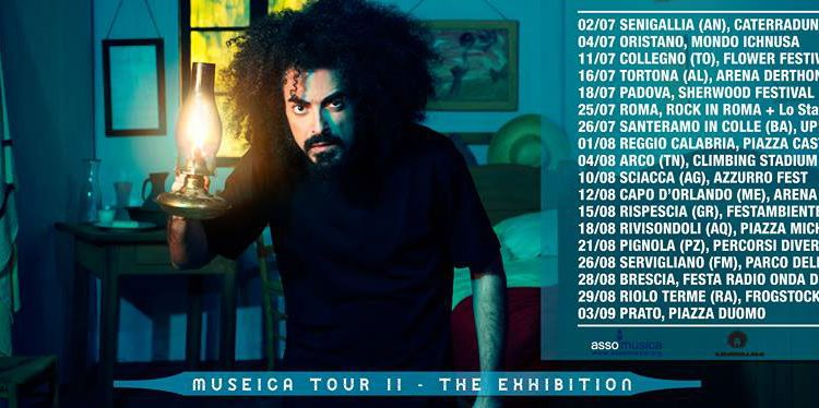 Caparezza: Museica Tour II – The Exhibition, biglietti