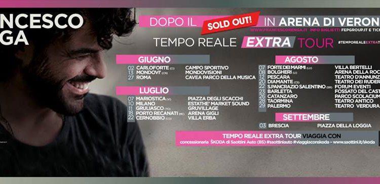 Francesco Renga: Tempo Reale Extra Tour – biglietti