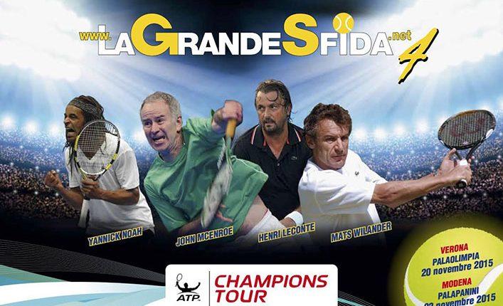 Tennis: La Grande Sfida 4 a Verona e Modena – biglietti