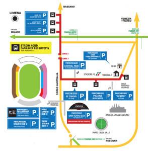 mappa-parcheggi-stadio-euganeo-padova