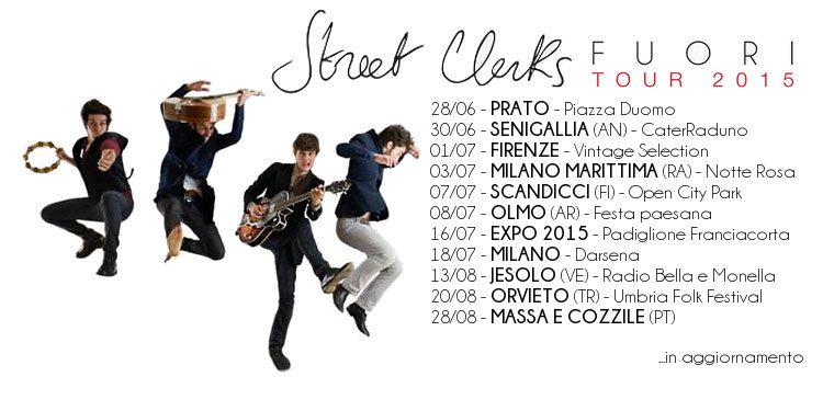 Street Clerks: Tuxedo è il nuovo singolo e date del tour