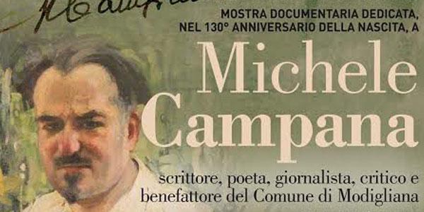 Michele Campana mostra 2015 locandina