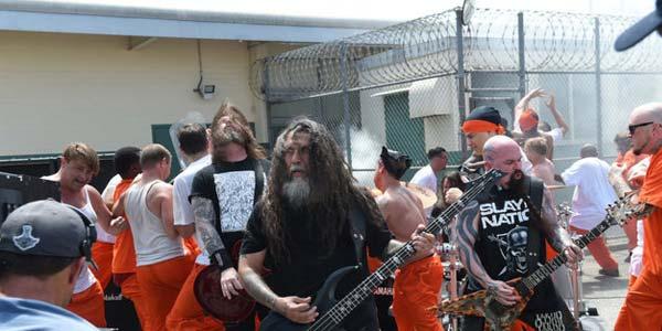Slayer video girato in una prigione
