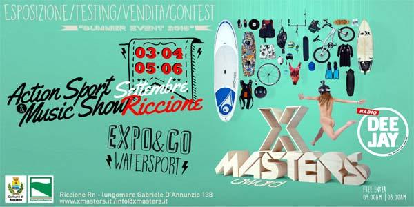 X Master Award 2015 a riccione