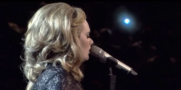 adele live someone like you