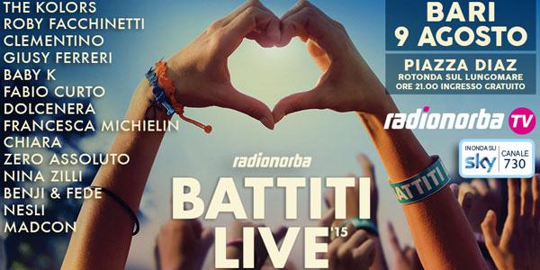 The Kolors al Battiti Live 2015 il 9 agosto a Bari – tutti gli ospiti