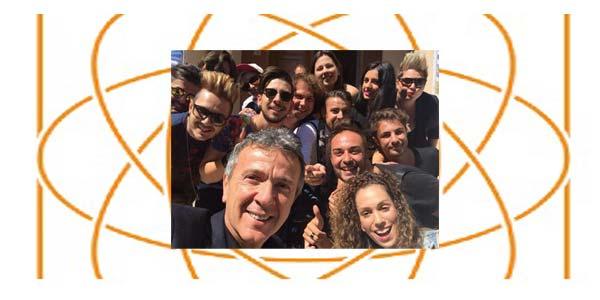 festival castrocaro selfi dei finalisti