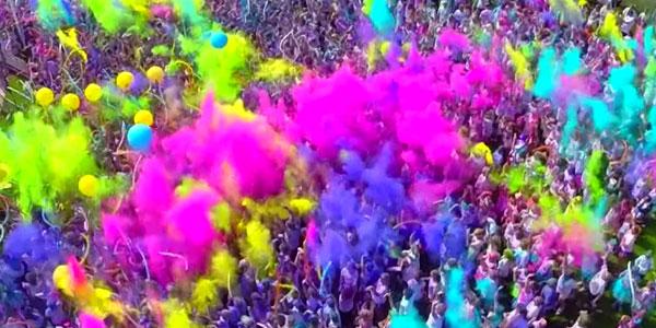 Color Vibe 5k Run parte il 5 settembre 2015 a Lido di Savio