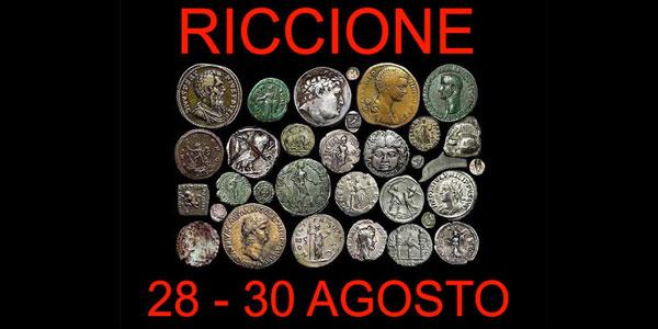 A Riccione inizia il 65° Convegno Filatelico Numismatico
