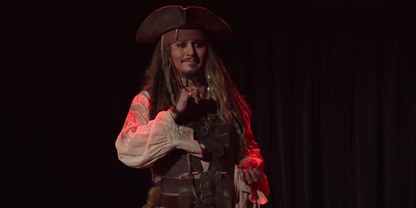 johnny depp jack sparrow d23 expo 2015