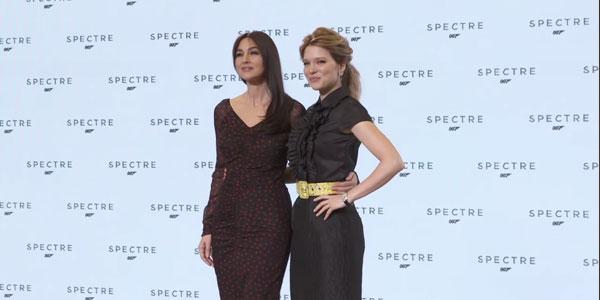 007 Spectre: scene inedite delle Bond Girl Bellucci e Seydoux – video