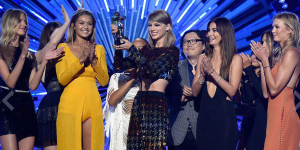mtv vma taylor swift trionfa