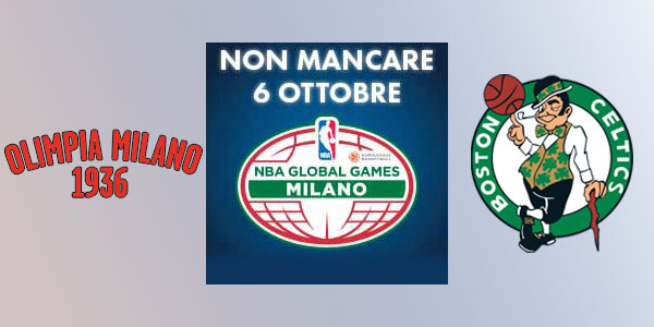 Basket: a Milano NBA Global Games Europe 2015 – biglietti