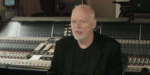 david gilmour backstage video nuovo singolo