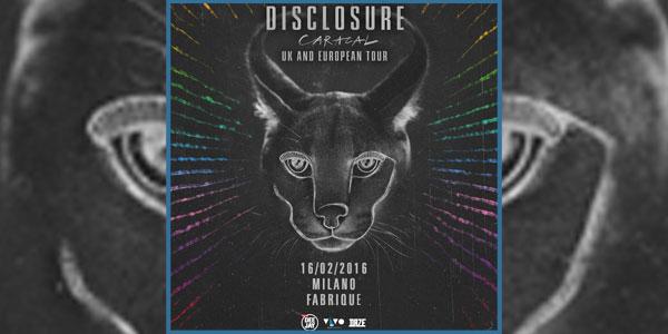 disclosure nuovo album e concerto milano 2016