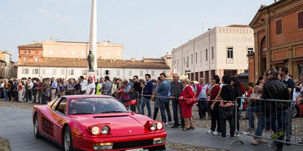 Lugo: Raduno Ferrari alla Festa del Cavallino Rampante