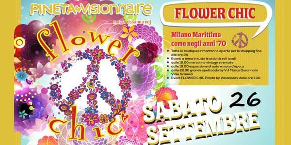 Milano Marittima Flower Chic il 26 settembre 2015, programma