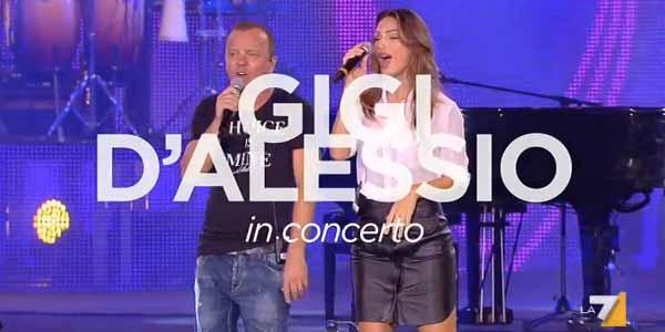 Gigi D'Alessio in concerto: come seguire il live e gli ospiti
