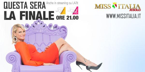 miss italia 2015 finale su la 7