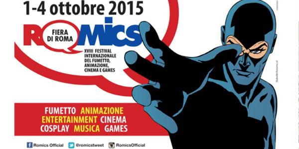 A Roma parte il Romics dal 1 al 4 ottobre 2015