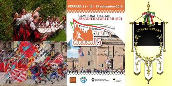 Faenza in gara ai Campionati Italiani Sbandieratori e Musici 2015