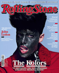 the kolors su rolling stone copertina