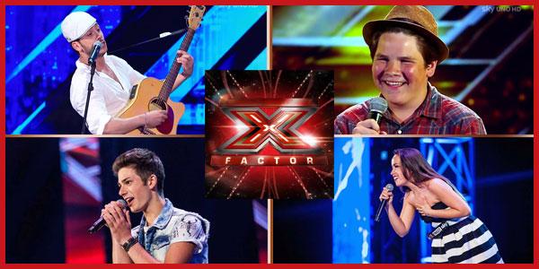 X Factor 9: seconda puntata di Audizioni, tutti i concorrenti
