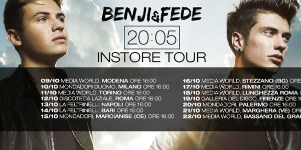 Benji e Fede incontrano i fan con un instore tour – date