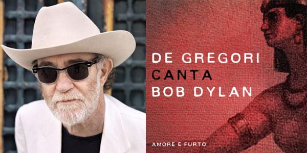 Francesco de gregori nuovo album Canta Dylan