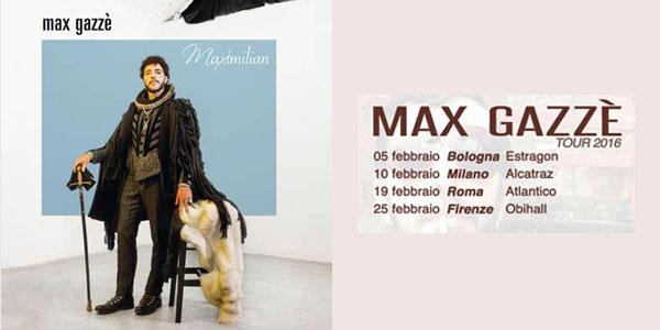 Max Gazzè: il nuovo album Maximilian esce il 30 ottobre 2015