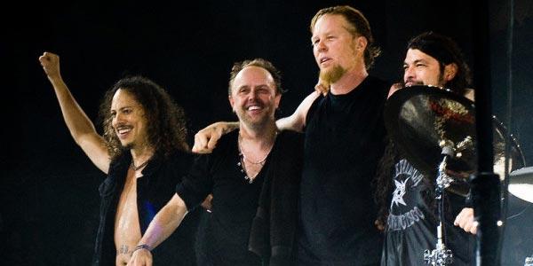 James Hetfield: i Metallica stanno registrando il nuovo album