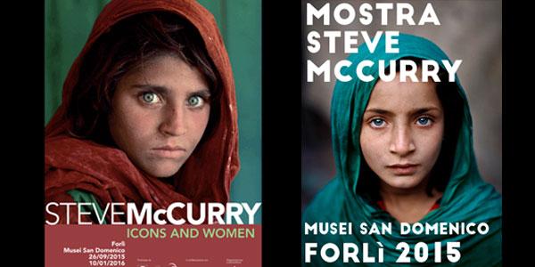 mostra mccurry foto ragazze afgane