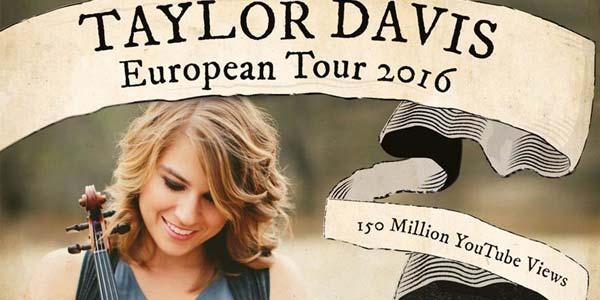 Taylor Davis: un concerto a Milano a febbraio 2016 – biglietti