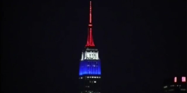 Empire State Building-attentati a parigi