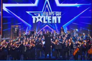 Gaga Symphony Orchestra a Italia's Got Talent
