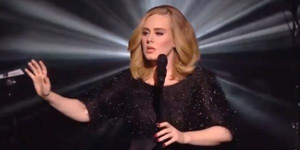 adele hello live nrj awards