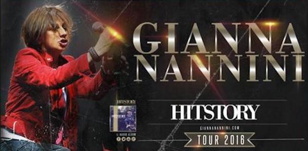 gianna nannini tour 2016
