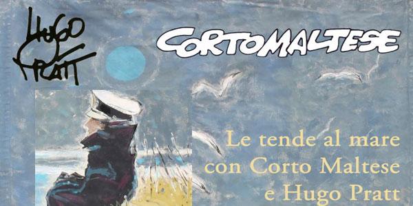 Cesenatico: all'asta le Tende al mare di Corto Maltese